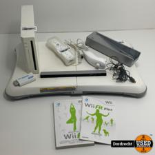 Nintendo Wii compleet || Met balance board || Met garantie