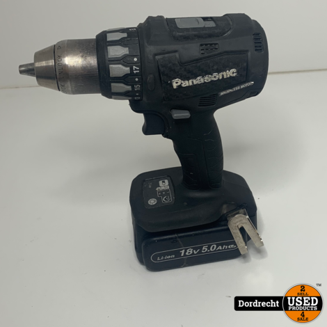 Panasonic EY74A2 Boormachine 18v || Met accu en lader || Met garantie