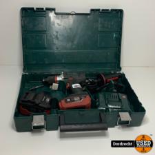 Metabo BS 18 LTX Impuls Accu boorschroefmachine 18 Volt 5.5AH || 2 accu's + lader in kist || Met garantie
