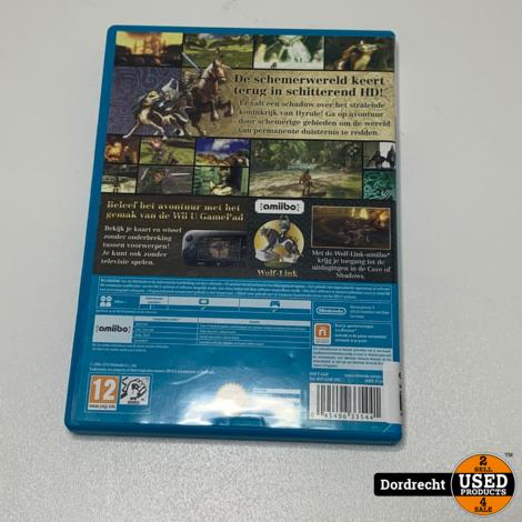 Nintendo Wii U spel || Zelda Twilight Princess