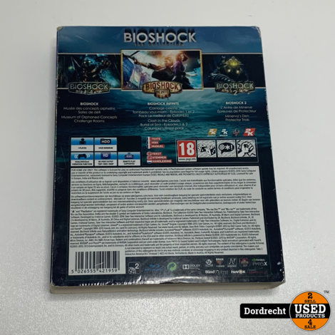 Playstation 4 spel || Bioschock the collection