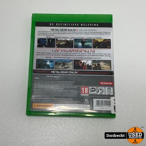 Xbox One spel || Metal Gear Solid