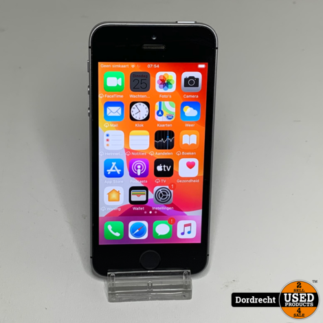 iPhone SE 32GB Space Gray || Met garantie