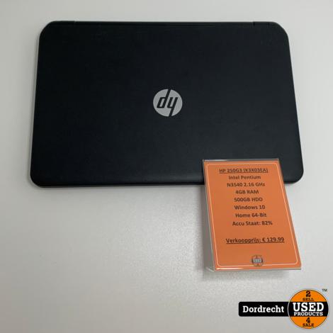 HP 250 G3 (K3X03EA) Laptop | Intel 2.16 GHz | 4GB RAM | 500GB HDD | Win10 Home 64-Bit | Met garantie
