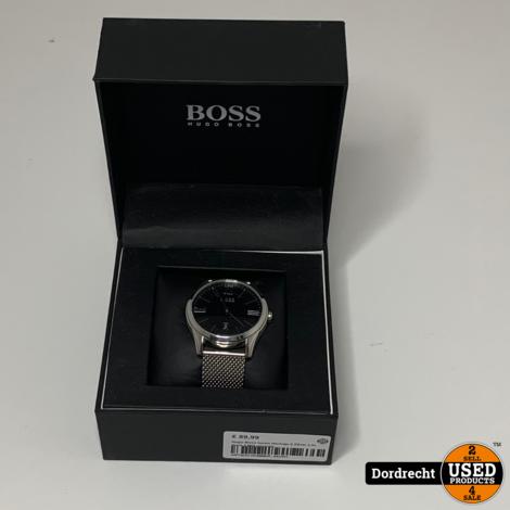 Hugo Boss heren Horloge || Zilver || In doos || Met garantie