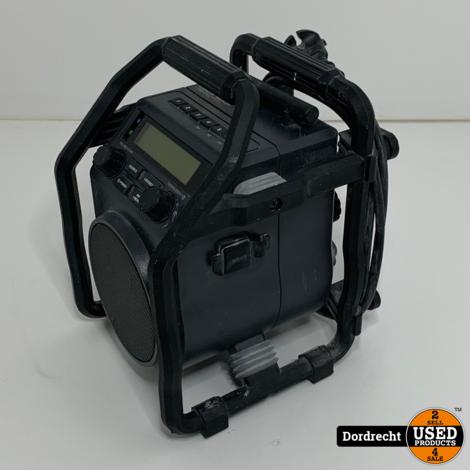 PerfectPro UBOX400R bouwradio || Op snoer en batterij || Met garantie