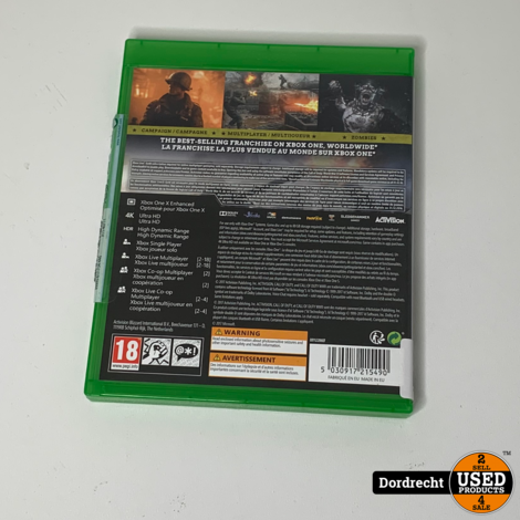 Xbox One spel || Cal of duty - WWII