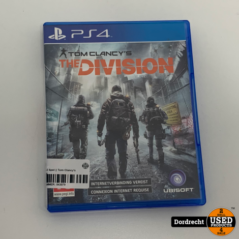Playstation 4 Spel || Tom Clancy's The Division