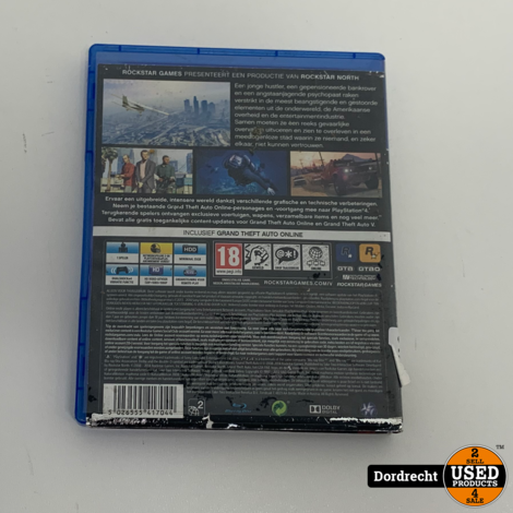 Playstation 4 Spel || Grand Theft Auto 5