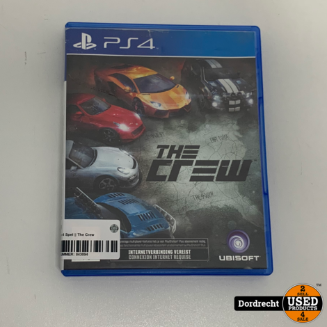 Playstation 4 Spel || The Crew