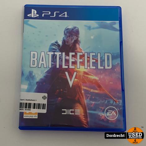 Playstation 4 Spel || Battlefield V