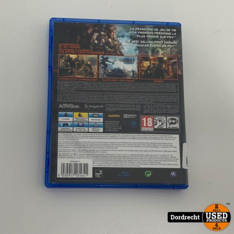 Playstation 4 Spel    Call of Duty Black Ops 3