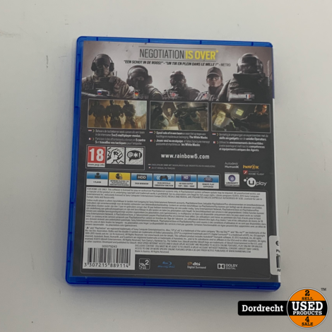 Playatation 4 spel    Rainbow Six - Siege