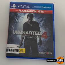 Playstation 4 Spel || Uncharted 4 A Thief's End