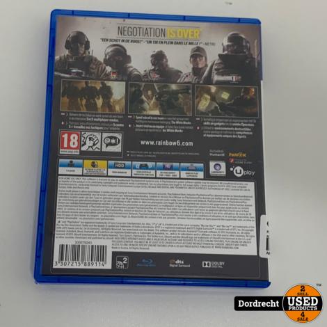 Playstation 4 Spel || Tom Clancy's Rainbows Siege