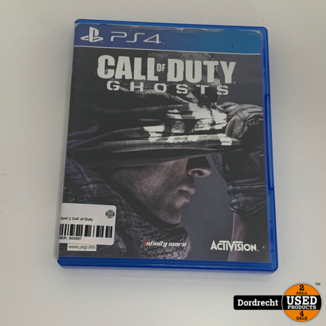 Playstation 4 Spel || Call of Duty Ghosts