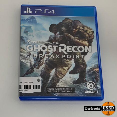 Playstation 4 spel || Ghost Recon Breakpoint