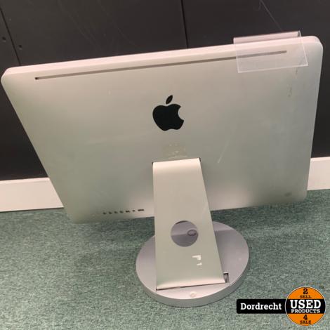iMac 2010 21.5 inch || Intel Core i3 3.06 GHz || 4GB RAM || 500GB HDD || MacOS 10.13.6 || Met toetsenbord en muis || Met garantie
