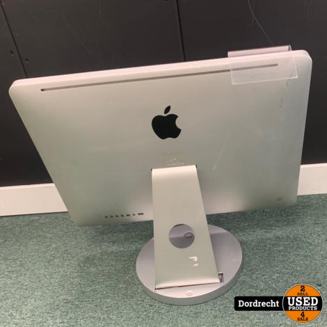 iMac 2010 21.5 inch    Intel Core i3 3.06 GHz    4GB RAM    500GB HDD    MacOS 10.13.6    Met toetsenbord en muis    Met garantie