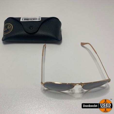 Ray Ban Aviator Gradient RB3025 Zonnenbril || In hoes || Met garantie