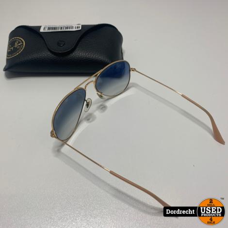 RayBan Aviator Gradient RB3025 Zonnenbril || In hoes || Met garantie