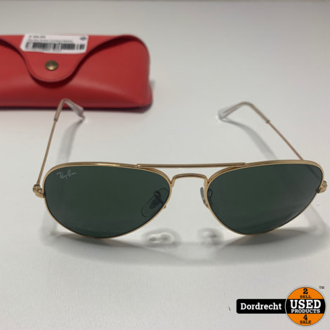 RayBan Aviator Gradient RB3025 Zonnenbril || In hoes