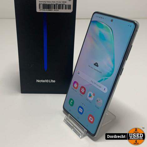 Samsung Galaxy Note 10 Lite 128GB Aura Glow || In doos || Met garantie
