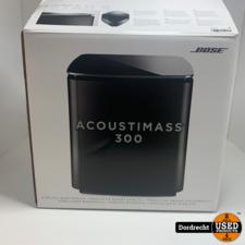 Bose Acoustimass 300 Wireless Bass Module Zwart || In doos || Met garantie