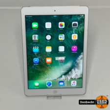 iPad Air 2 64GB WiFi + Cellular || Wit || Met garantie
