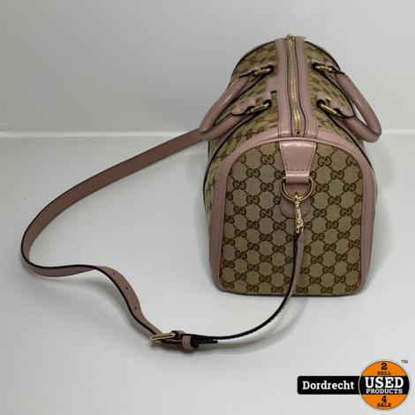 Gucci Boston Bag dames tas Roze || Met dustbag || Met garantie