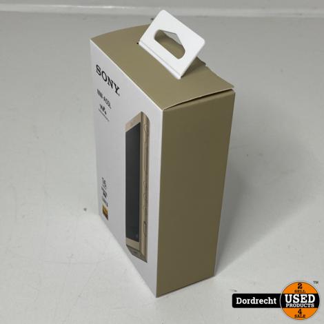 Sony NW-A55L Walkman - Hi-Res Audio MP3-speler - 16GB - Goud || NIEUW in doos || Met garantie