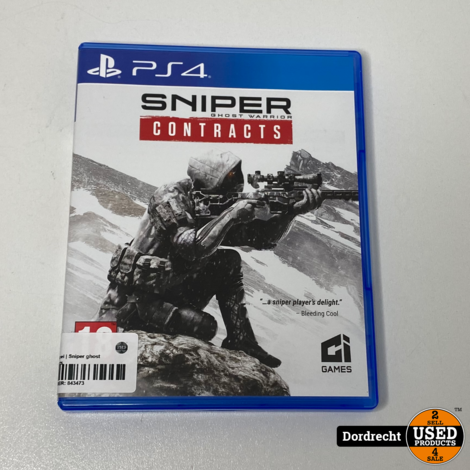 Playstation 4 spel | Sniper ghost warrior contracts