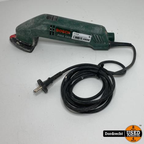 Bosch PDA 120 E schuurmachine || Op snoer || Met garantie