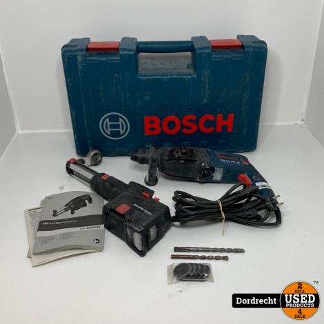 Bosch GBH 2-23 REA Klopboormachine + Afzuiger || In kist || Op snoer || Met garantie