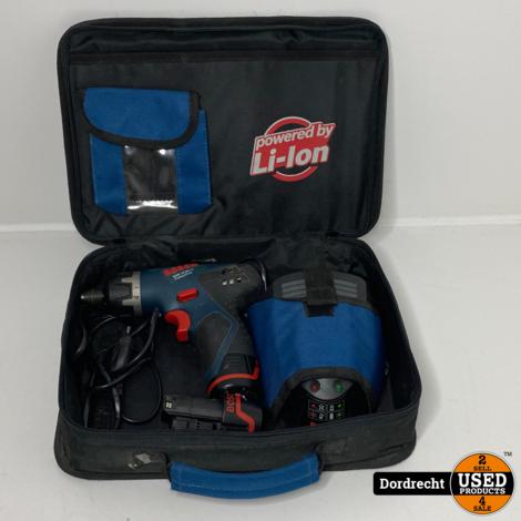 Bosch GSR 10.8V Boormachine || Met 2 accu's en lader || Met garantie