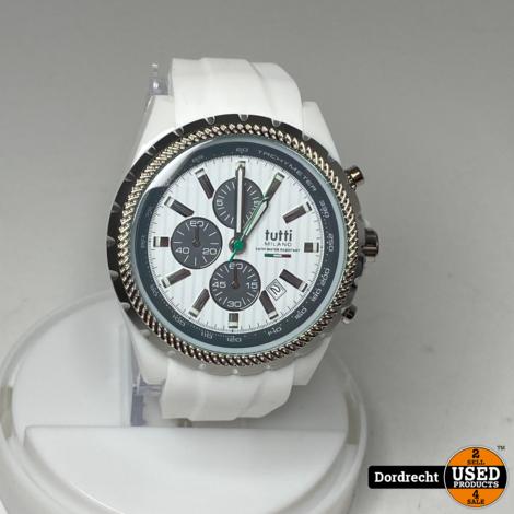 Tutti Milano Horloge | Wit | NIEUW in doos | Met garantie