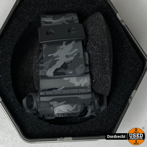 G-Shock Heren horloge comoflage zwart   In doos   Met garantie