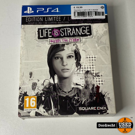 Playstation 4 spel || Life is Strange Before The Storm - Limited Edition