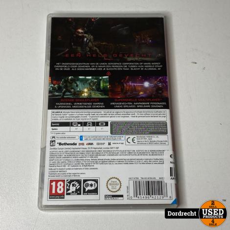 Nintendo Switch spel || DOOM