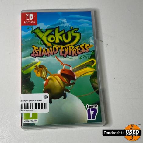 Nintendo Switch spel    Yoku's island express