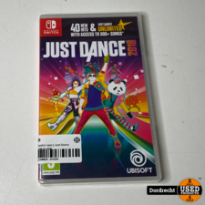 Nintendo Switch spel    Just Dance 2018    NIEUW in seal