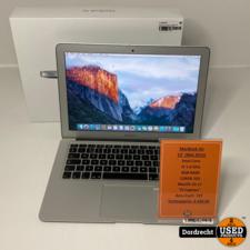 Macbook Air 2015 13Inch Intel Core i5 128GB SSD 8GB RAM | In doos | Met garantie