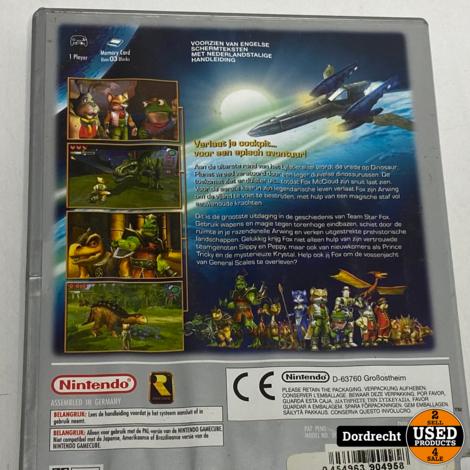 Nintendo Gamecub spel | Starfox adventures