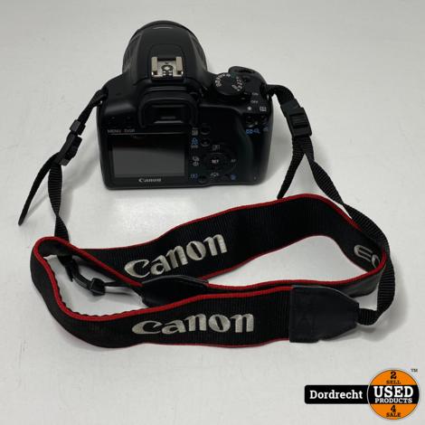 Canon EOS 1000D Camera || In tas || Met lader || Met Canon efs 18-55mm lens || Met garantie