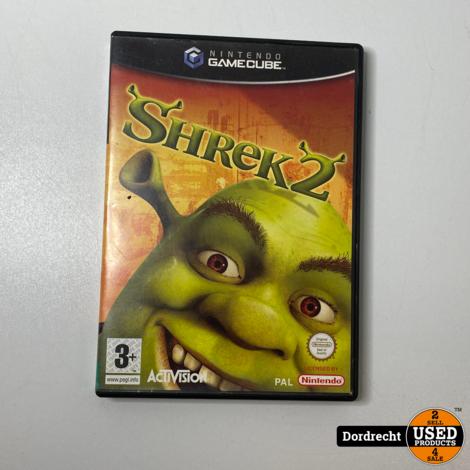 Nintendo Gamecube spel   Shrek 2