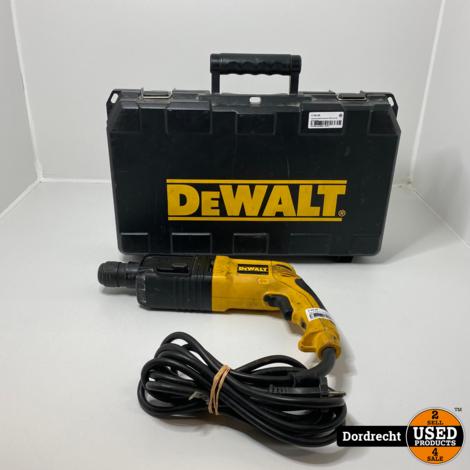 Dewalt klopboormachine DW 563 QS | Op snoer | Met garantie