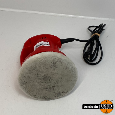 Car polisher ms318f 230v-60w   Met garantie
