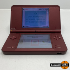 Nintendo 3DS XL Rood   Zonder lader   Zonder pen   Met garantie