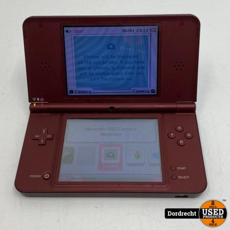 Nintendo DSi XL Rood | Zonder lader | Zonder pen | Met garantie