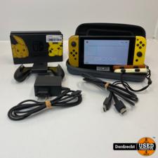 Nintendo Switch Pokemon Special Edition   Compleet   Met garantie